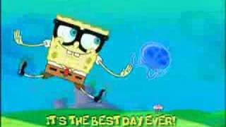 Spongebob-Best Day Ever(with lyrics)