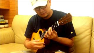 No name - solo ukulele/CWL Tenor #3 by 梁山伯