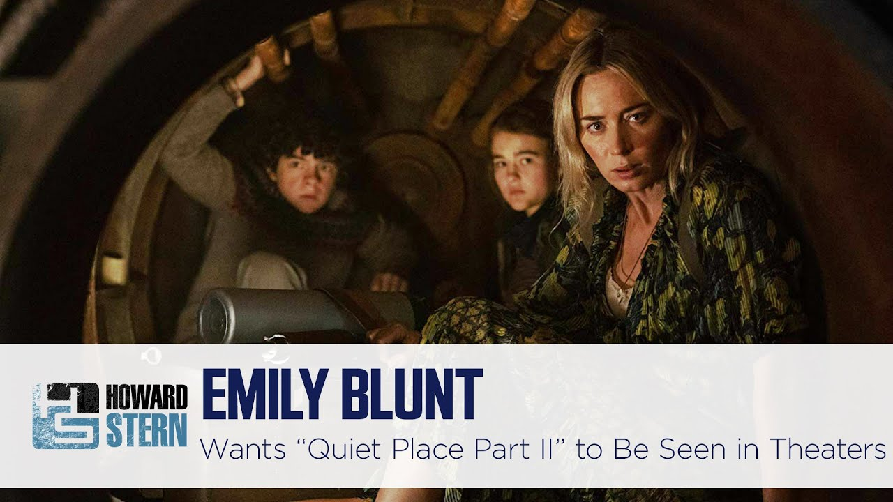 """Emily Blunt on Delaying the Release of """"A Quiet Place Part II"""""""
