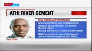 Linus Gitahi  former CEO of NMG has been appointed as the board chairman of Athi River cement