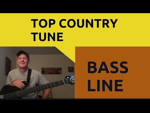 Top country tune-Dierks Bentley Living bass line