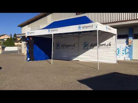 Tente Defisport - Publicity Shop