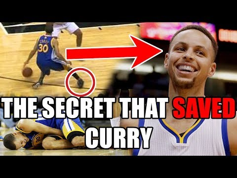 How Stephen Curry SAVED His Ankles With ONE Thing In The NBA