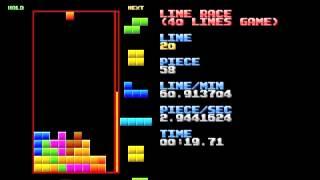 Tetris: 40 Lines - 36.23 seconds