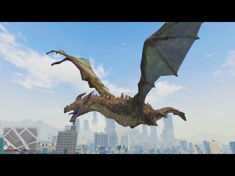 SECRET HIDDEN DRAGON IN GTA 5! HIDDEN PEYOTE (GTA 5 ONLINE)