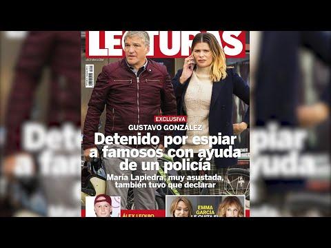 Gustavo González, detido por utilizar a axuda dun policía para espiar a famosos