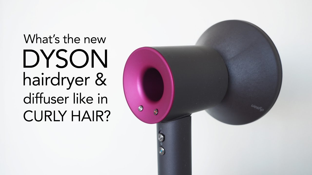 Dyson Diffuser Review In Curly Hair Youtube