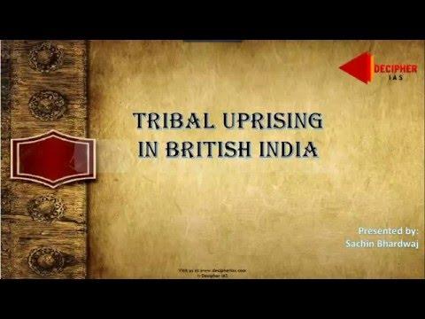 Tribal Uprising in British India - Decipher IAS