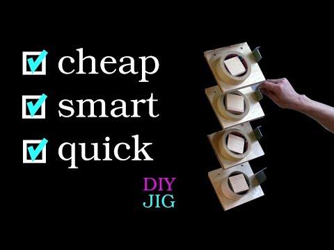 Incredible simple and smart tape dispenser - DIY JIG
