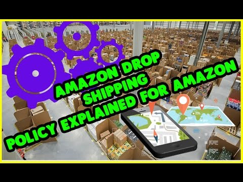 Amazon Drop shipping Policy explained for amazon fba seller or new amazon sellers with oaxray