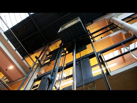 Scenic Dover Impulse inground hydraulic elevators w/ nudge mode @ Living Arts Centre of Mississauga