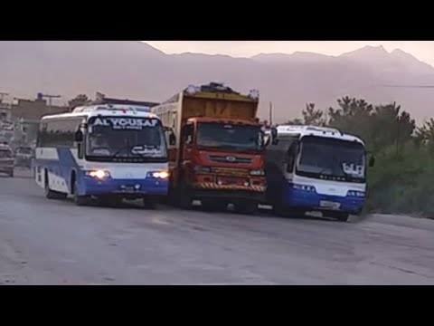 crazy-overtakes-||-bus-overtakes-||-bus-horn-||-crazy-driver-||-quetta-buses