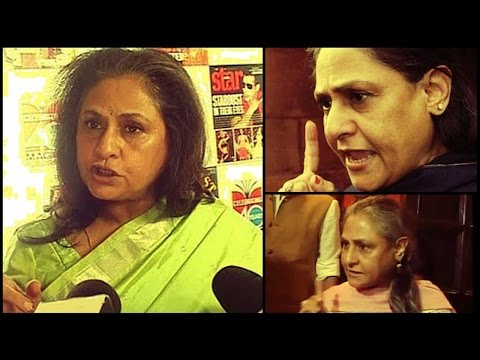 Jaya Bachchan's 10 Angry Videos you can't miss !