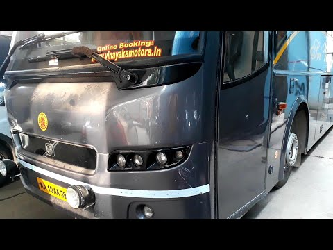 VOLVO BUSES OF VINAYAK TRAVELS IN BENGALURU