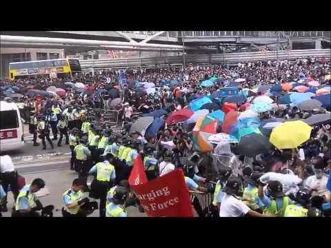 Umbrella revolution Umbrella song