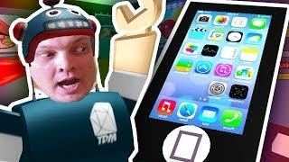 ROBLOX Игра как мультик ПОБЕГ ИЗ iPhone 7 видео для детей от канала Каталекс