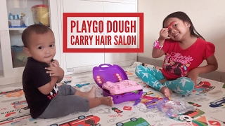 Zara Cute - mainan anak Playgo Dough Carry Hair Salon | creative | melatih imajinasi