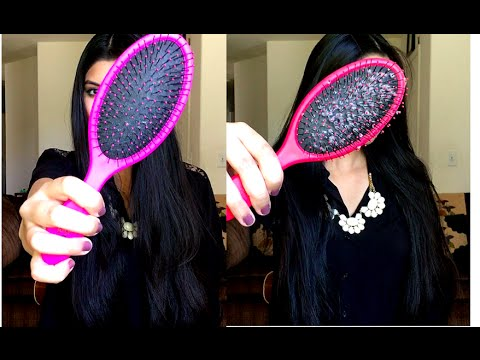 How to get rid of hair brush build up / lint