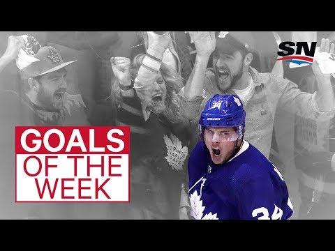 NHL Goals of the Week: Matthews breaks out