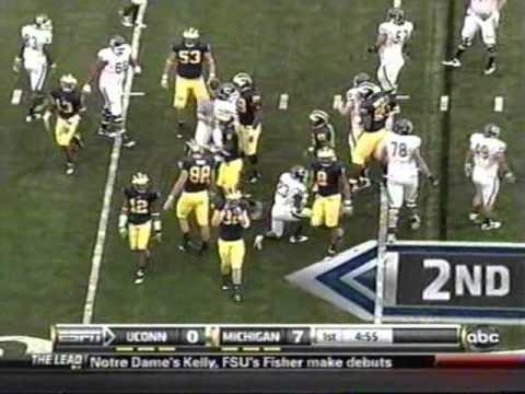 2010: Michigan 30 UConn 10 (PART 1)