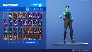 SHOWING THE RAREST ACCOUNT IN THE WORLD! ALL SKINS, PICKAXES, WING-DELTAS AND DANCES! Fortnite