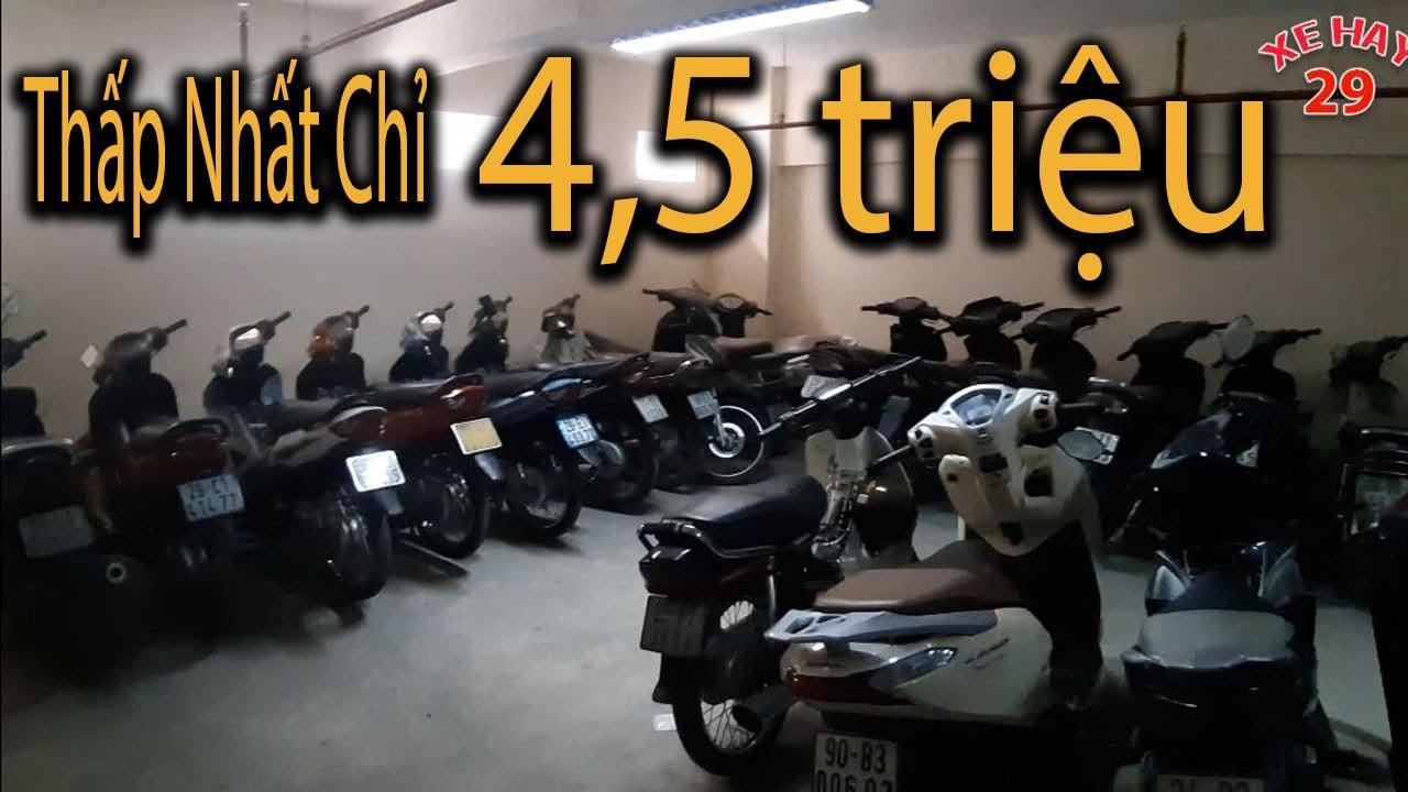 Thanh Lý giá rẻ kho xe 22 chiếc XE MÁY CŨ Future;Wave; Dream;sirius;nouvo..