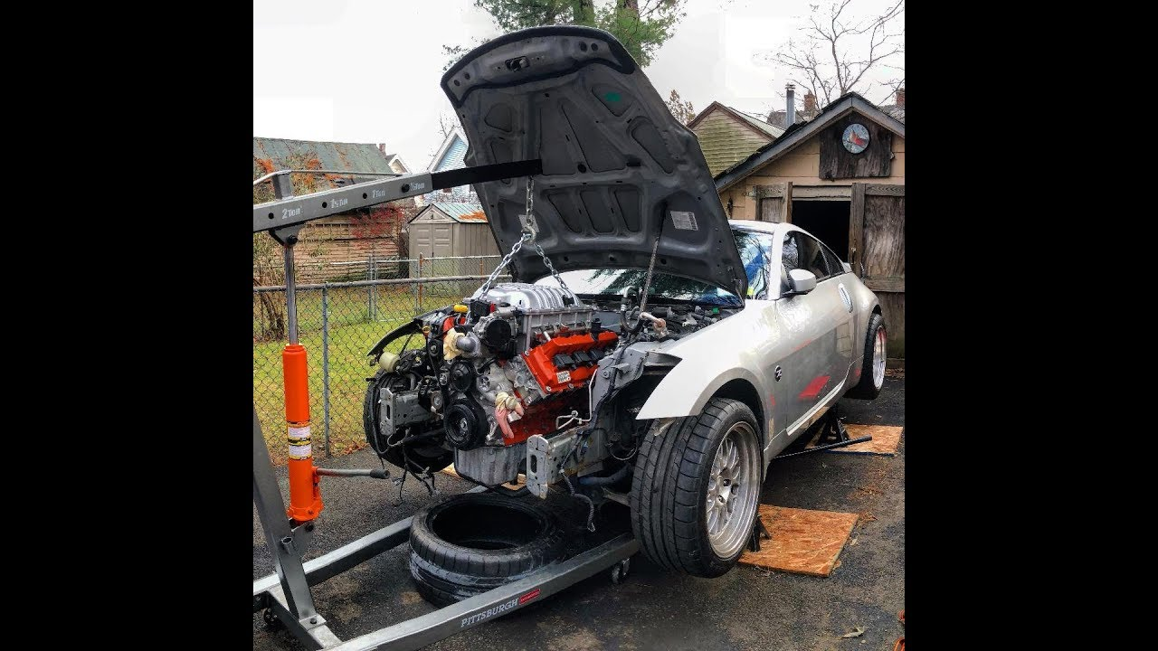 Hellcat-Engined Nissan 350Z Might Be Too Good To Be True