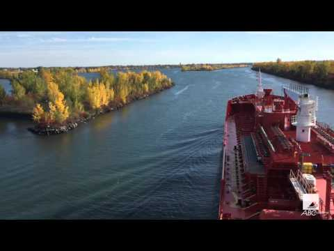 M/T Adfines Sea on St Lawrence Seaway