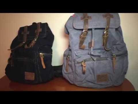 messenger-bags-reviewed!-homlove-vintage-canvas-backpack