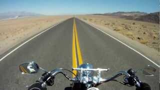 Ride Free Motorcycle Tour Route 66 Grand Canyon Death Valley (Video 2)