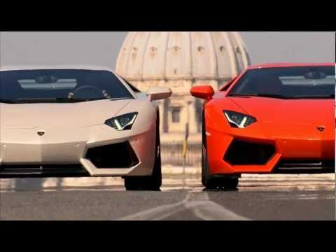 Lamborghini Aventador Driven Official Promo Car Tv Ad Commercial