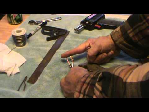 replace the tip on your weller soldering gun 1 of 2 youtube. Black Bedroom Furniture Sets. Home Design Ideas