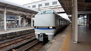 JR WEST JAPAN SERIES 683系特急列車,THUNDER BIRD,特急 雷鳥19号 金沢駅 行!