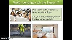 Steuern - Schweiz Teil 1 (Steuerhoheit & Steuerpflicht)
