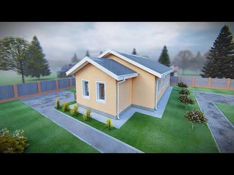 """Проектирование и строительство одноэтажного дома по проекту """"Еремей"""", Тюмень"""