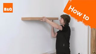 How To Put Up A Floating Shelf