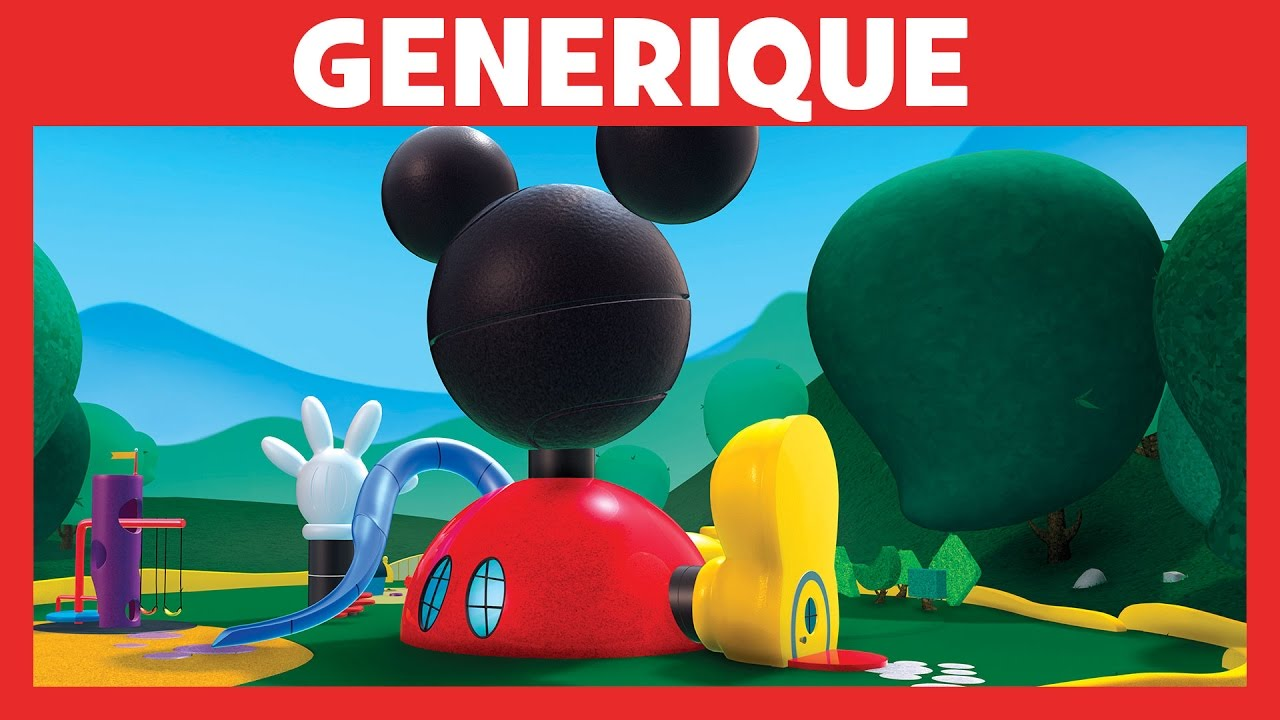 G n rique de la maison de mickey disney junior youtube for 7 a la maison generique