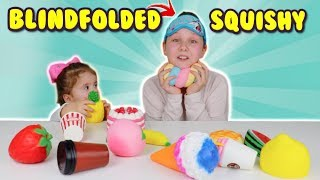 BLINDFOLDED SQUISHIES CHALLENGE!!! Ruby Rube & Bonnie Squishy Collection!