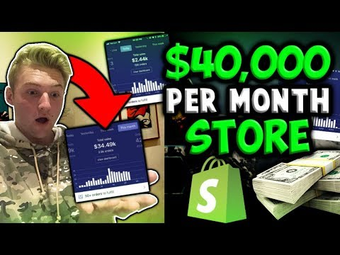 How To Build A $40,000 PER MONTH Shopify Store With CHEAP PRODUCTS