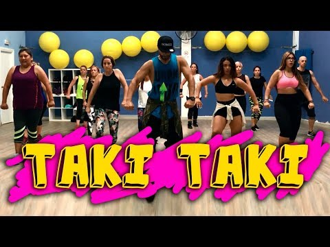 Taki Taki DJ Snake  Ft. Selena Gomez, Ozuna, Cardi B Coreografia Zumba Sanzonetti