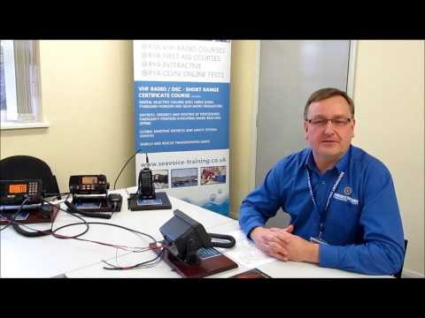 Routine voice call using a Marine VHF DSC radio