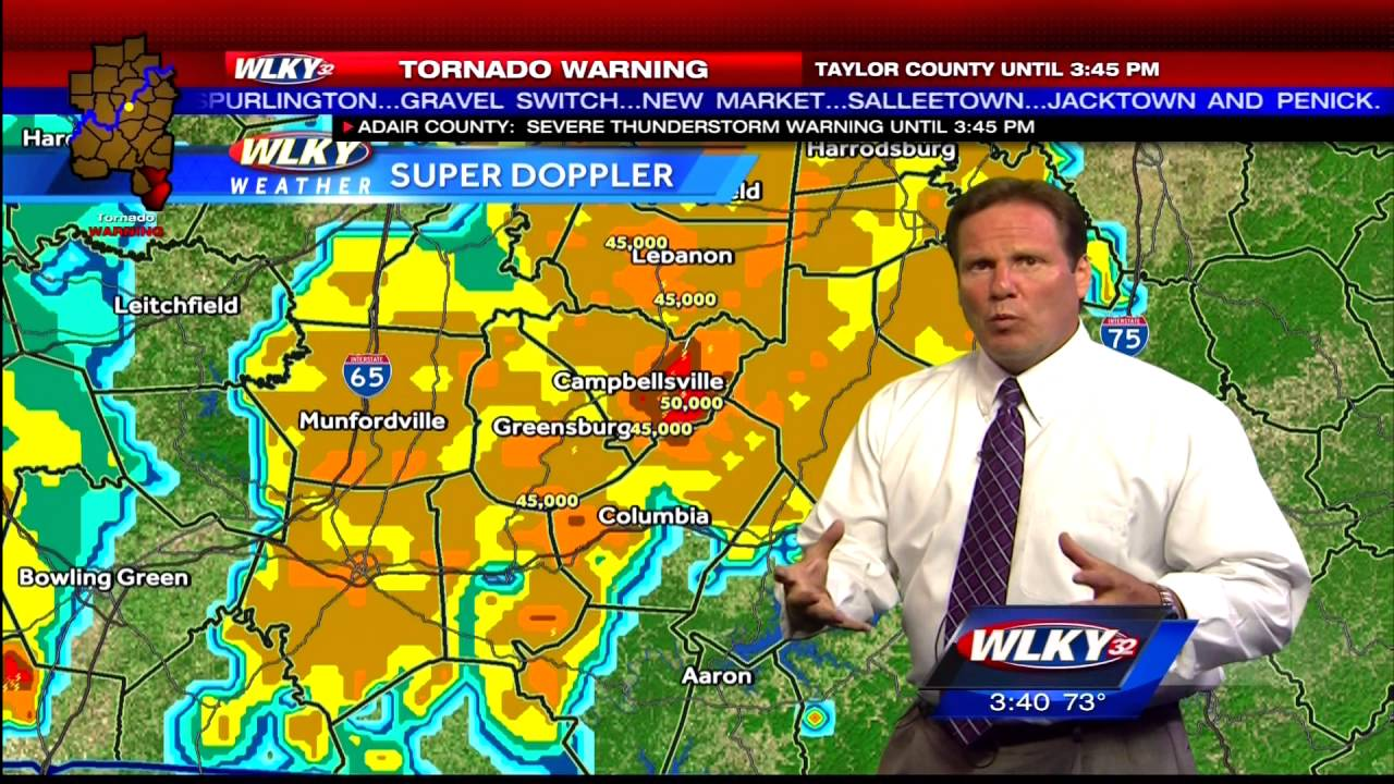 WLKY-TV - Severe Weather Coverage - 7/4/2016 3:30pm Videos