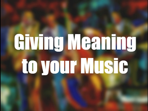 The Meaning of Music (1/5) - A Guide to Music Expression #1