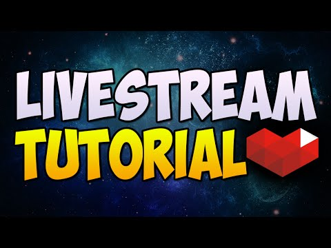 How To Live Stream On YouTube Gaming! (Windows 7/8/10)