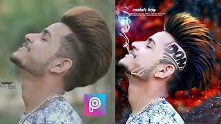 Picsart New Hairstyle Editing || CB Editing Smoker boy || Stylish Look + HDR Effect + Cb edit