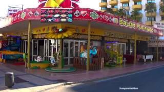 Mallorca - Calla Milor Shoppingmeile *Full HD*