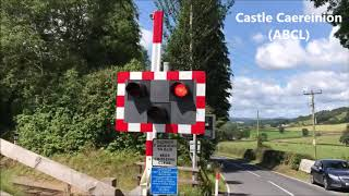 EVERY LEVEL CROSSING IN POWYS!!!