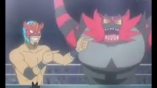 Masked Professor KUKU S  ncineroar vs ashs litten  Pokemon Sun and Moon Episode 63 Preview