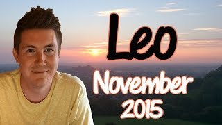 Horoscope for Leo November 2015 | Predictive Astrology