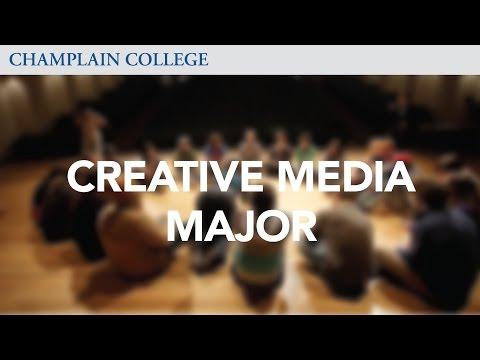 Creative Media Major | Champlain College